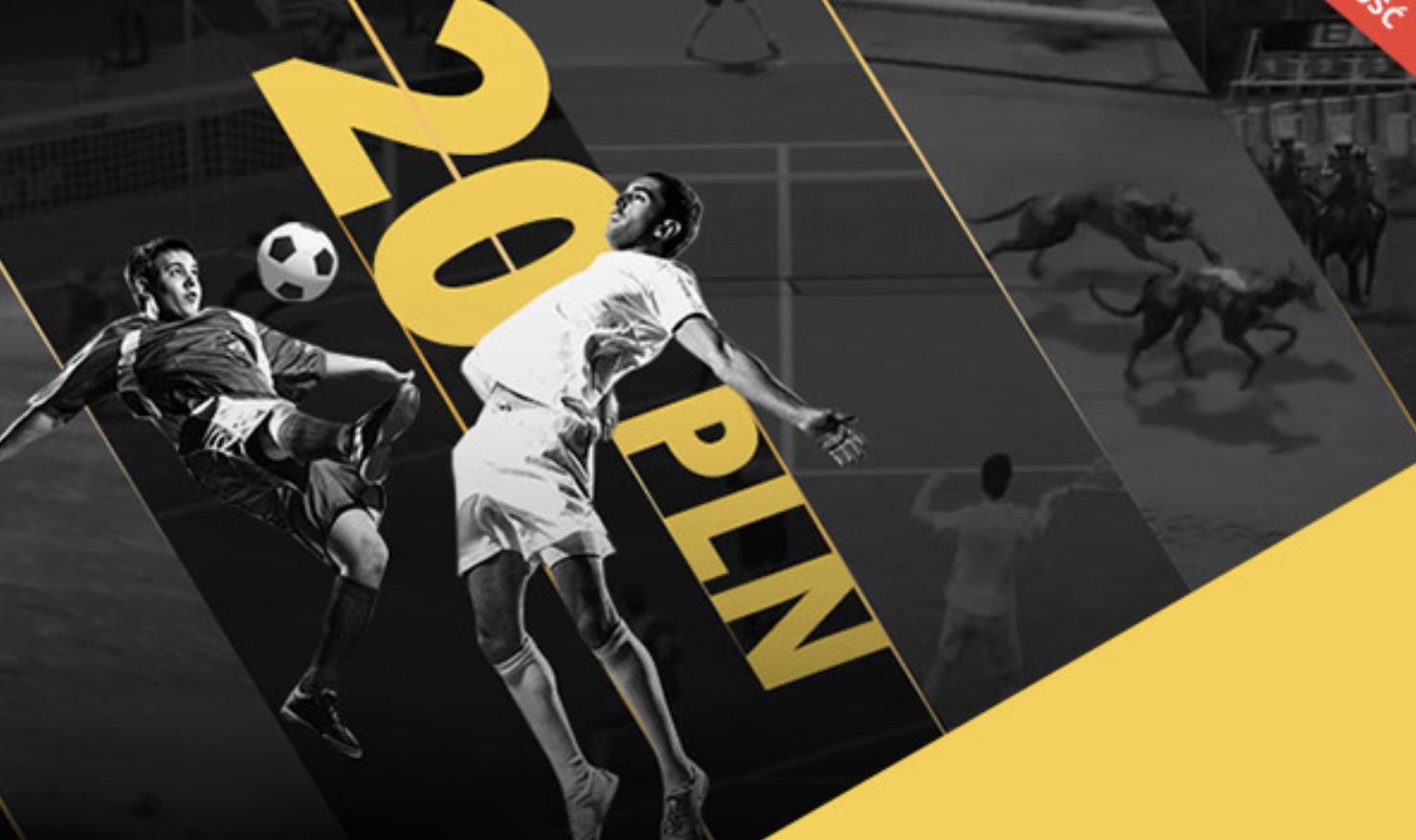 Premia 20 PLN w LvBET Wirtualne Sporty!