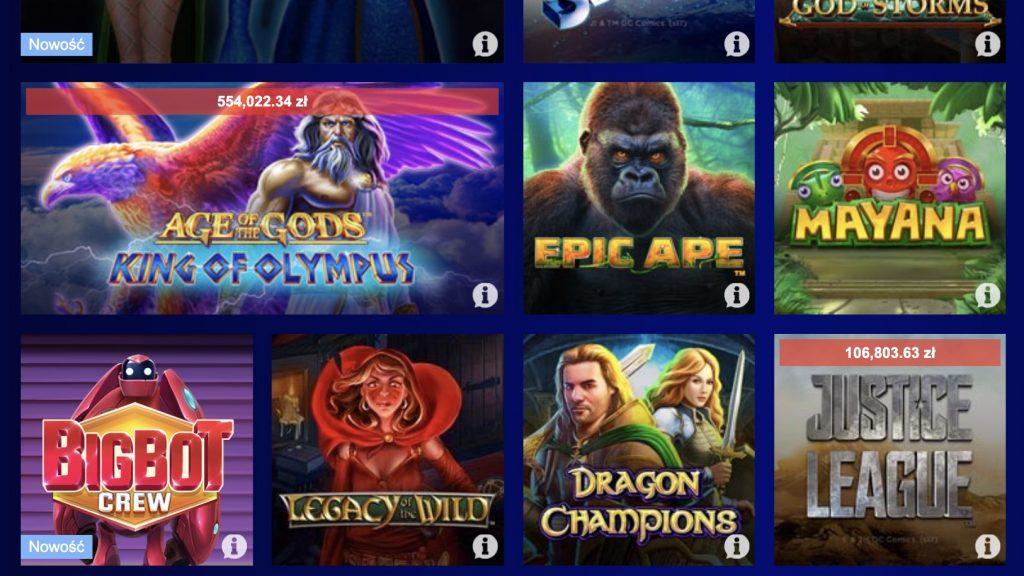 W co grać w Total Casino?